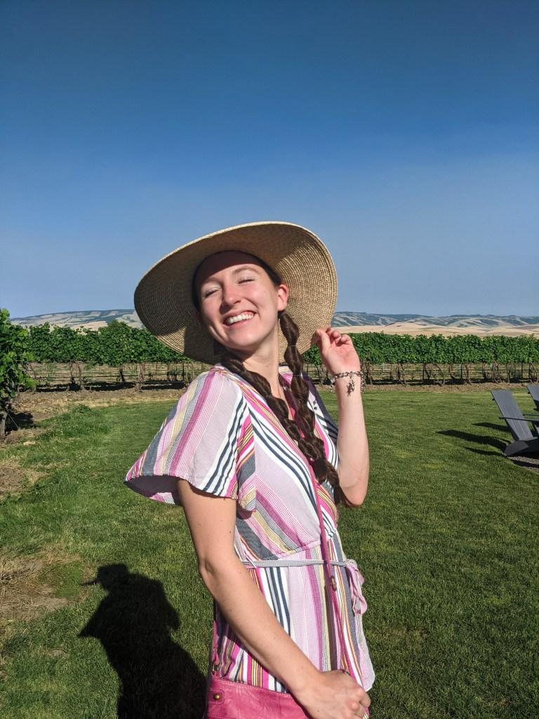 winery-outfit-floppy-hat-twisty-braids-francescas