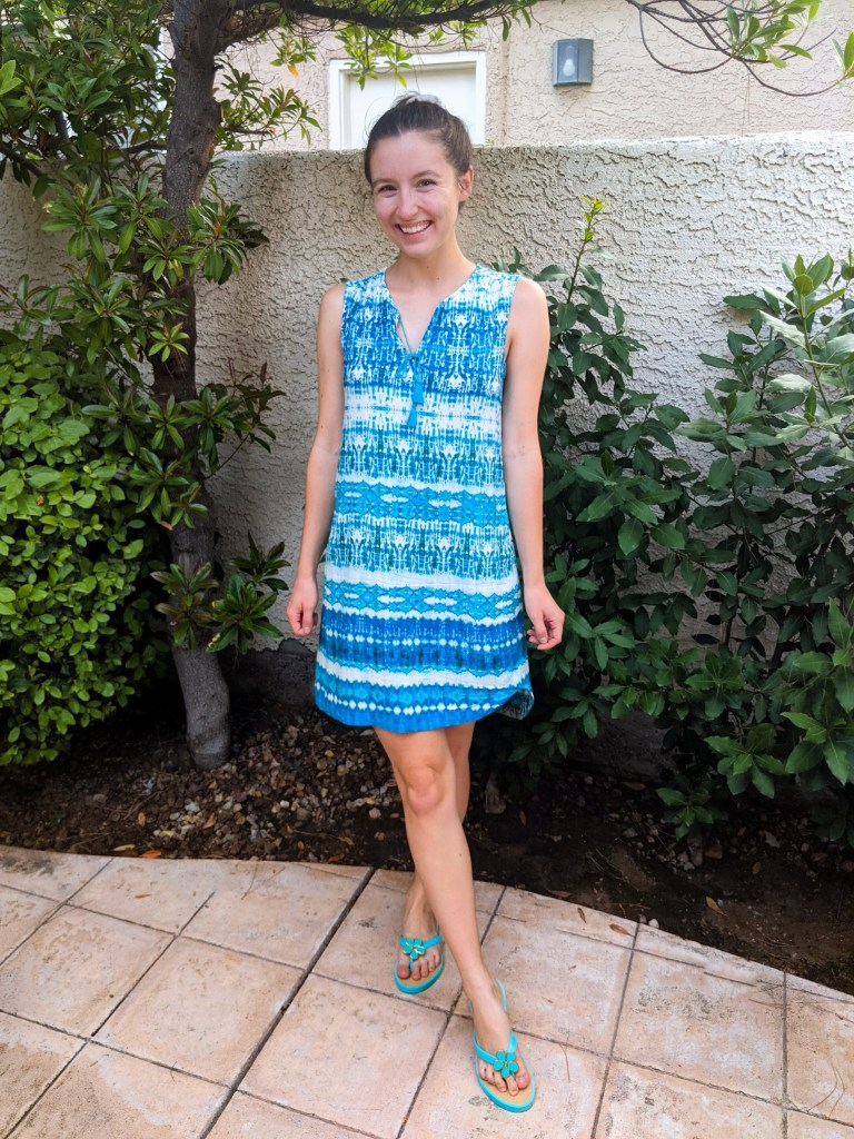 turquoise-dress-swimsuit-coverup-beachy-outfit-vacation