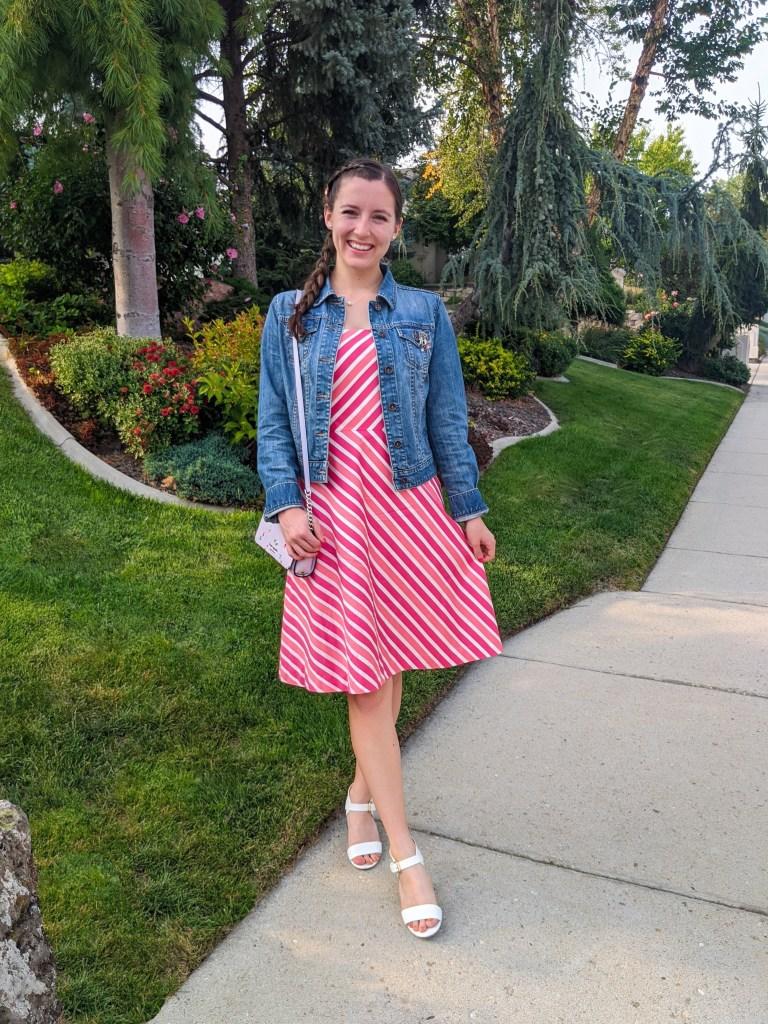 pink-stripe-dress-ann-taylor