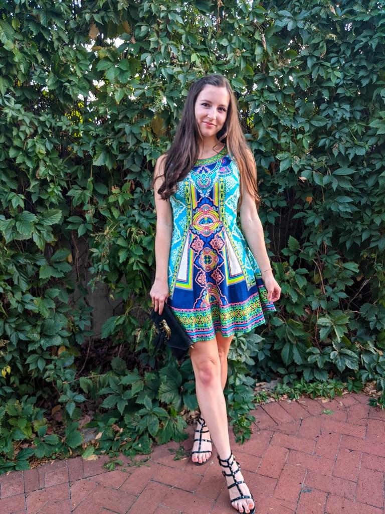 quarter-system-college-blogger-colorful-pattern-black-sandals